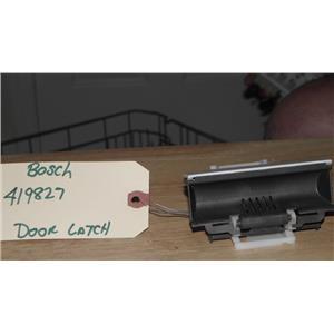 BOSCH DISHWASHER 419827 DOOR LATCH
