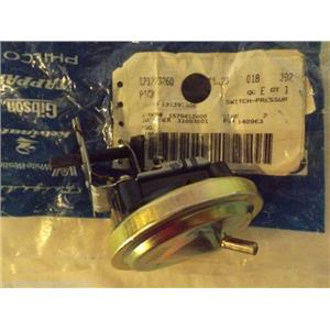 FRIGIDAIRE GIBSON WASHER 131395500 Switch-pressure  NEW IN BAG
