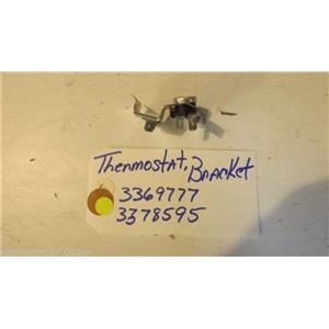 KENMORE DISHWASHER 3369777  3378595  thermostst, bracket USED PART