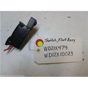 GE DISHWASHER WD21X479 WD12X10023 WD12X376 SWITCH W/ FLOOD SWITCH BRACKET USED
