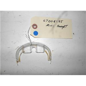 AMANA REFRIGERATOR 67006295 TARGET RING USED PART ASSEMBLY