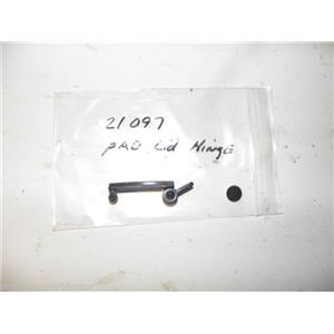KENMORE WASHER 21097 LID HINGE PAD USED PART ASSEMBLY FREE SHIPPING