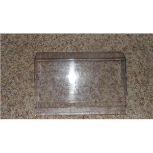 FRIGIDAIRE REFRIGERATOR 5303300053 DAIRY DOOR CLEAR PLASTIC COVER