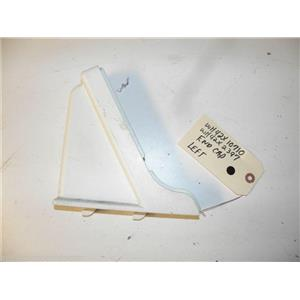 GE WASHER WH42X10710 WH42X2397 LH WHITE END CAP USED PART ASSEMBLY