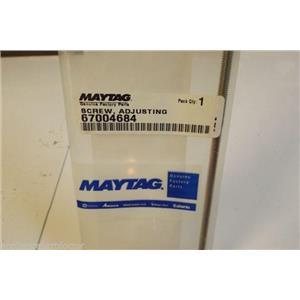 MAYTAG REFRIGERATOR 67004684 Screw, Adjusting   NEW IN BOX