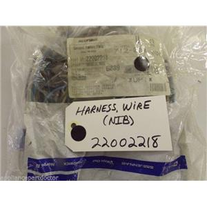 Maytag Admiral Washer  22002218  Harness, Wire   NEW IN BOX