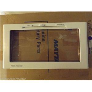 MAYTAG ADMIRAL REFRIGERATOR 61004508 Front Assy., Crisper Pan   NEW IN BOX