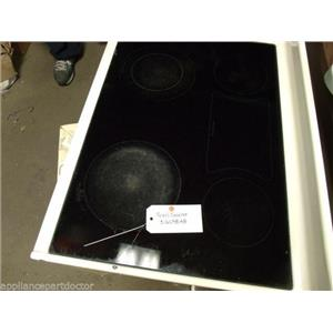 KENMORE OVEN 316098148 GLASS COOKTOP USED PART ASSEMBLY