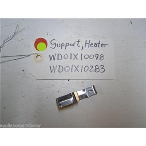 GE DISHWASHER WD01X10098 WD01X10283 HEATER SUPPORT USED PART ASSEMBLY