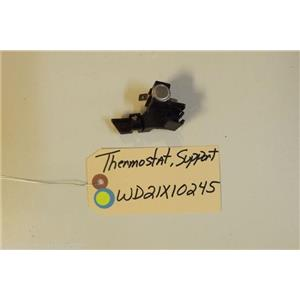 GE DISHWASHER WD21X10245  Thermostat, support  USED PART