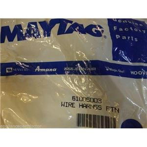 Maytag Jenn Air Refrigerator 61005003  Wire Harness, Ftn.  NEW IN BOX