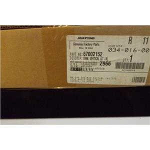 MAYTAG REFRIGERATOR 67002152 TRIM- VERT (BLK) NEW IN BOX