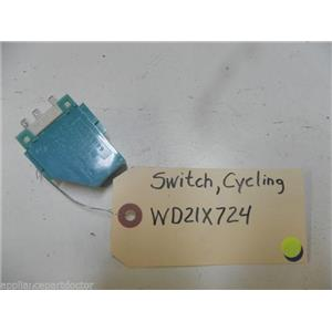 GE DISHWASHER WD21X724 CYCLING SWITCH USED PART ASSEMBLY