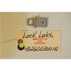 LG DISHWASHER 4026DD3001A   Lock latch  NEW W/O BOX