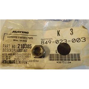 Maytag WHIRLPOOL AMANA WASHER 210385 Nut- lock    NEW IN BAG