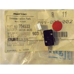 JENN AIR KENMORE STOVE 704533 Switch, Micro  NEW IN BOX