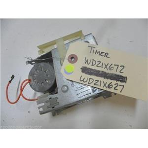 GE DISHWASHER WD21X672 WD21X627 TIMER USED PART ASSEMBLY
