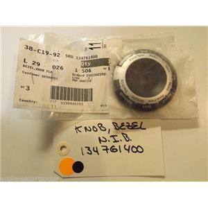 FRIGIDAIRE WASHING MACHINE  134761400 Bezel,knob Flange  NEW IN BOX