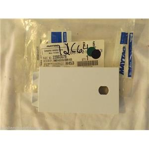 MAYTAG WASHER/COMBO 22003679 Timer Access Door Assy (white)  NEW IN BOX