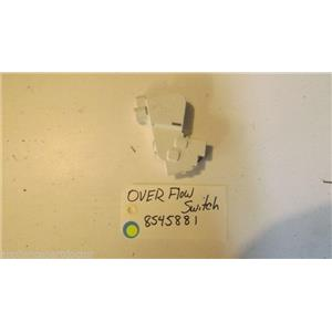 WHIRLPOOL Dishwasher 8545881  over flow switch  USED PART