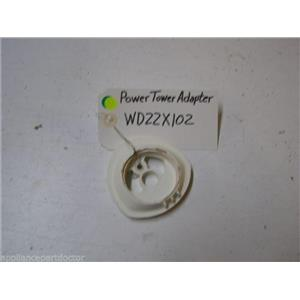 HOTPOINT DISHWASHER WD22X102 POWER TOWER ADAPTER USED PART ASSEMBLY