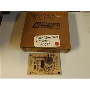 Maytag FSP Whirlpool Stove 701743  60779  Circuit Board, Timer NEW IN BOX