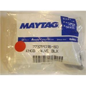 Maytag Stove  7737P036-60  Knob, Valve (blk) NEW IN BOX