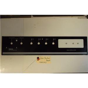 CALORIC  STOVE 0305303   Glass Control Panel     USED