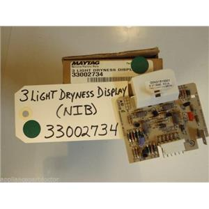Maytag  Dryer  33002734  3 Light Dryness Display  NEW IN BOX