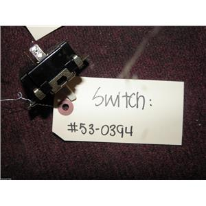 MONTGMERY WARD NORGE GAS FRONT LOAD DRYER 530394 SWITCH USED PART ASSEMBLY