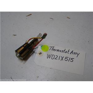GE DISHWASHER WD21X515 WD3X770 WATER HEAT T'STAT 120-12 W/ RETAINER