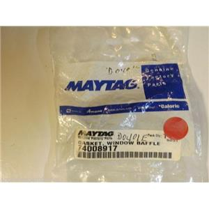 Maytag Amana Stove  74008917  Gasket, Window Baffle  NEW IN BOX