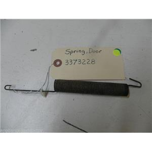 WHIRLPOOL DISHWASHER 3373228 DOOR SPRING USED PART ASSEMBLY
