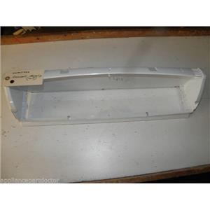 MAYTAG WASHER 22003960 WHITE CONSOLE HOUSING USED PART ASSEMBLY