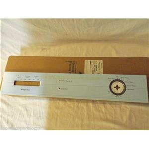 MAGIC CHEF DISHWASHER 99002445 Insert, Facia (wht) NEW IN BOX