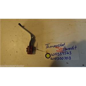 KENMORE DISHWASHER  W10339563  W10300703 thermostat, bracket NEW W/O BOX