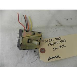 SEARS KENMORE FRONT LOAD WASHER 131891700 134401700 SWITCH