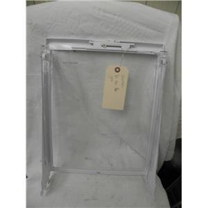 MAYTAG REFRIGERATOR 61005889 DELI MEAT GLASS SHELF USED PART
