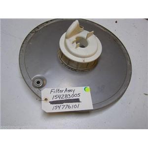 ELECTROLUX DISHWASHER 154283005 154776101 154252201 FILTER W/ SOIL BASE FILTER