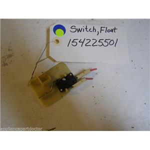 White Consolidated dishwasher 154225501 Switch,float used part