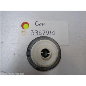 KENMORE DISHWASHER 3367910 CAP USED PART ASSEMBLY