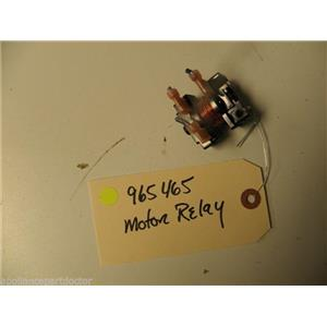 WHIRLPOOL ROPER DISHWASHER 965465 MOTOR RELAY USED PART ASSEMBLY