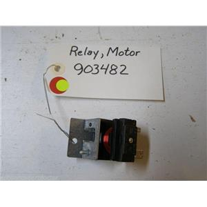 MAYTAG DISHWASHER 903482 MOTOR RELAY USED PART ASSEMBLY