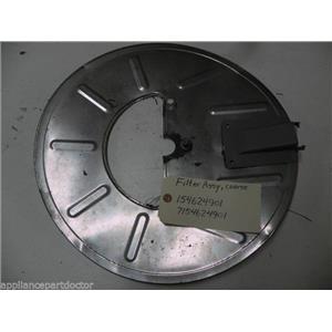 ELECTROLUX DISHWASHER 154624901 7154624901 COARSE SOIL FILTER W/ CHIMNEY USED