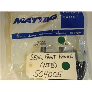 Maytag Admiral Dryer  504005  Seal, Front Panel  NEW IN BOX