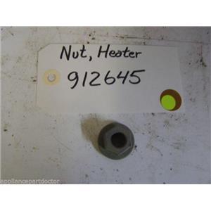 MAYTAG DISHWASHER 912645 Nut, Heating Element USED PART