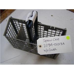 SAMSUNG DISHWASHER DD94-01013A DD9401013A SPOON BASKET W/O COVER USED ASSEMBLY