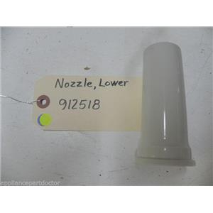 MAYTAG DISHWASHER 912518 LOWER NOZZLE USED PART ASSEMBLY