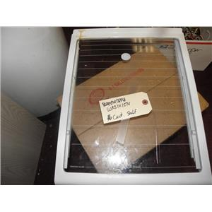 KENMORE 2 DOOR REFRIGERATOR WR32X1574 CANTILEVER GLASS SHELF 1/2 USED PART