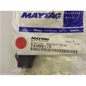 Maytag Magic Chef Stove  74009176  Switch, Rocker (blk)   NEW IN BOX